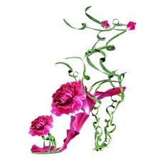 Fashion Show: Floral Fantasies | Художник-Фотограф Michel Tcherevkoff