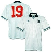 Gazza's World Cup 1990 England Shirt