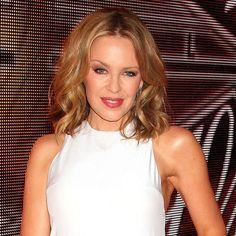 Kylie Minogue - blonde hair - tousled bob