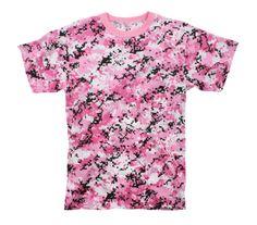 Rothco Pink Digital Camo T-Shirt