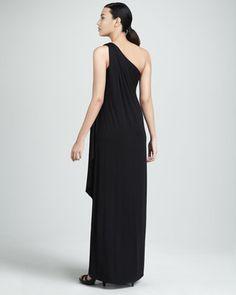 Rachel Pally Ophelia One-Shoulder Maxi Dress, Womens Rachel Pally, Caftan Dress, The Chic, One Shoulder, Glamour, Elegant, Formal Dresses, How To Wear, Shopping