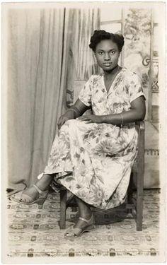 Portrait, Ever Young Studio, Accra, c. 1953-54