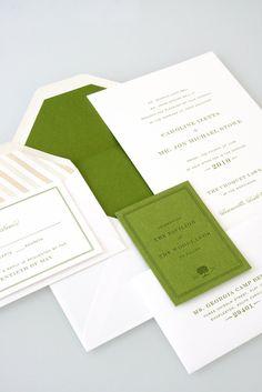 Sideshow Press Wedding Invitation