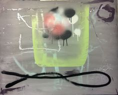 Jordi Galí @jordi.gali - My name is Grace (2017) 0,80x0,60m  Acrylic Spray on paper