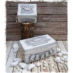 ΚΟΥΤΙ ΕΥΧΩΝ ΚΟΡΩΝΑ ΚΩΔ: THE-KING-BM Decorative Boxes, Home Decor, Decoration Home, Room Decor, Home Interior Design, Decorative Storage Boxes, Home Decoration, Interior Design