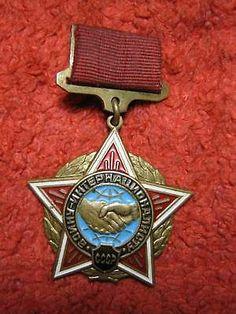 USSR Afghanistan Badge medal Warrior Internationalist