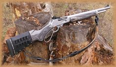 Custom Lever Action Rifle Right Side