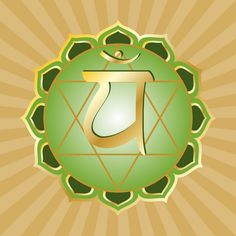 Anahata, the 4th chakra -- the heart energy center. Thought to develop between the ages of 21 and 28.