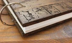 Rustic Wedding Guest Book with by OurWeddingInvites