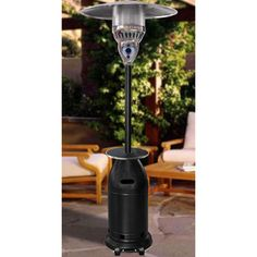 Sunmaster Tapered Propane Patio Heater - Black