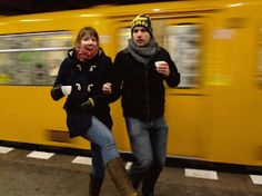 moving Berlin UBahn gif