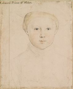 Edward VI, son of Henry VIII and Jane Seymour by Holbein