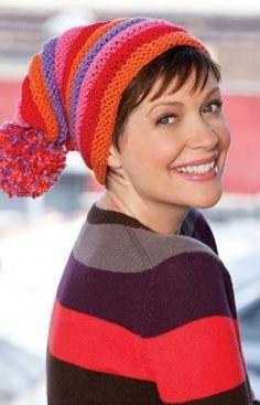 Free Knitting Pattern - Hats: Romancing Hat