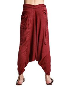 Katuo Chinese Traditional Mens Harem Pants Zen Trousers Leisure Pants (S, Rust red) KATUO http://www.amazon.com/dp/B00WG456J8/ref=cm_sw_r_pi_dp_hRYsvb06T17W5