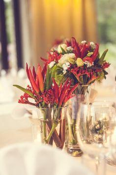 #wedding #pepper #red