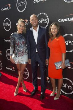 Lindsey Vonn Shimmers In Tight Metallic Jumpsuit At Espy