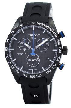 Tissot PRS 516 Quartz Chronograph Men's Watch Big Ben, Tissot Mens Watch, Watches For Men Unique, Le Locle, Gents Watches, Casual Watches, Fashion Watches, Men's Fashion, Stainless Steel Case