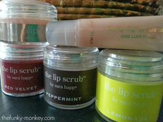 The Funky Monkey Giveaway: Sarah Happ Red Velvet Lip Scrub Gift Set - a $40 value! Ends 11/13/13