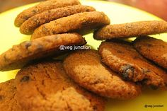 Eggless chocochip cookies