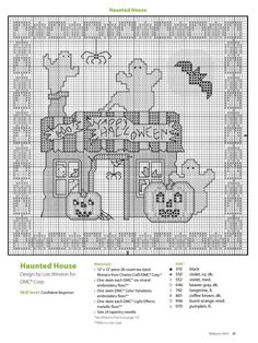 (1) Gallery.ru / Фото #8 - Just Cross Stitch Halloween 2014 - tymannost