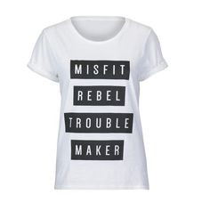 Misfit Rebel Trouble Maker
