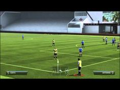 Fifa14 Tutorials | Custom Corner kick Set-piece 99% goal
