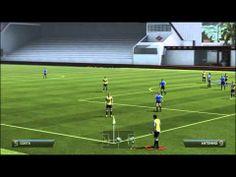 Fifa14 Tutorials | Custom Corner kick Set-piece 99% goal