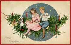 The Best Hearts Are Crunchy: Christmas Magic -Postcard Friendship Friday #145