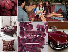 Pantone Color of 2015- Marsala//