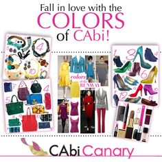 Fall in love with color this fall! CAbi Fall 12'