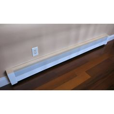 Basic Baseboard Heater Cover 3 ft length - Vent and Cover Baseboard Radiator, Baseboard Heater Covers, Baseboard Heating, Baseboards, Stairs And Staircase, Staircase Design, Spiral Staircases, Narrow Hallway Decorating, Floating Stairs