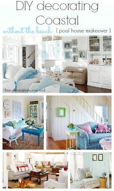 DIY decorating: coastal ideas to inspire!