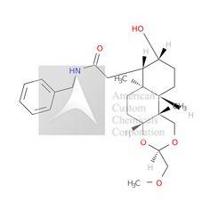 2-[(3R,4aR,6aR,7S,8R,10aS,10bR)-8-hydroxy-3-(methoxymethyl)-6a,10b-dimethyl-4a,5,6,7,8,9,10,10a-octahydro-1H-naphtho[2,1-d][1,3]dioxin-7-yl]-N-benzylacetamide is now  available at ACC Corporation