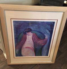 "BARBARA A. WOOD  "" Under The Lilac Tree "" SIGNED ARTIST PROOF  Framed  | eBay"