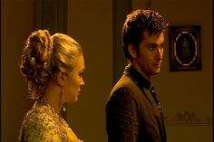 sophia myles as madame de pompadour in doctor who season 2 episode