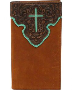 Nocona Contrast Cross Rodeo Wallet