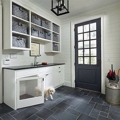 1,585 vind-ik-leuks, 32 reacties - @scoutandnimble op Instagram: 'We love this brilliant & stylish alternative to a dog crate! Who else could use a laundry room like…'