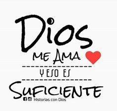 Tu amor mi Dios es suficiente ante todo y para todo