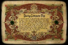 Hoodoo Magick Rootwork:  Daily #Conjure Tip: To Sweeten Someone to You.