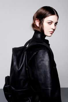 all in leather