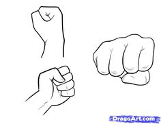 How to Draw Fists, Step by Step, Hands, People, FREE Online Drawing Tutorial, Added by Dawn, February 17, 2011, 9:34:49 pm