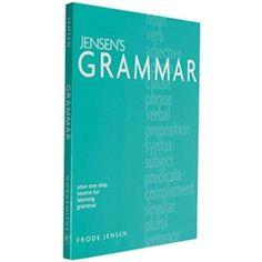 Jensen's Grammar $27.00