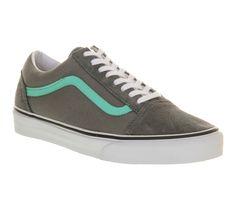 a86cf209ec Vans Old Skool Steel Grey Biscay Green - Unisex Sports. Markus · KICKS · Vans  Mens Chima Estate Pro Real Skateboards Skate Shoe Sable ...