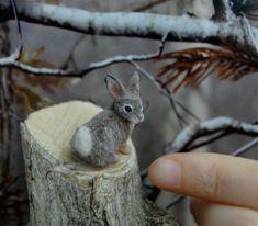 3. Cotton Tail Rabbit sculpted by ReveMiniatures