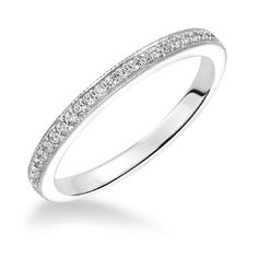 ArtCarved Diamond Wedding Band - Calla at Yatesjewelers.com