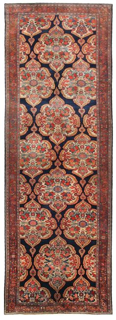 Antique Kurdish Persian Rugs 44412 Main Image - By Nazmiyal