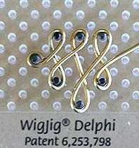 Step 14 to instructions for making Mod Classic Jewelry Wire & Beads Earrings Jewelry Making Project
