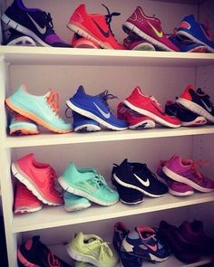 If only I had nikes in every color nike shoes for women #nike #shoes #running ... Nike Free Run Collection