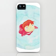 Ponyo Watercolor iPhone Case   Community Post: 17 Must-Have Studio Ghibli Gifts  @Samantha