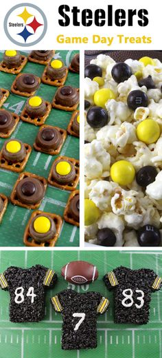 If you are a Pittsburgh Steelers fan and it is Game Day, you'll want to make one (or all) of our Pittsburgh Steelers Game Day Treats for your football watching family members. These are fun Yellow and Black football desserts that are perfect for a game day football party, an NFL playoff party or (hopefully!!!) a Super Bowl party. Follow us for more fun Super Bowl Food Ideas.